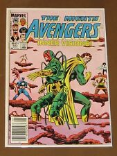 "AVENGERS #251 FN ""INNER VISIONS"" WASP PALADIN STARFOX SCARLET WITCH HERCULES"