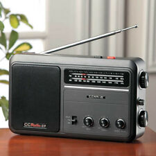 C Crane Portable AM/FM RADIO with High Quality Reception CCRadio-EP