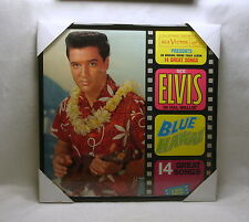 "ELVIS PRESLEY Framed Album Cover / Jacket ""Blue Hawaii"" 12x12 (1961) Rock & Roll"