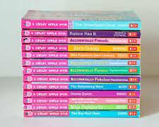 Lot of 13 CANDY APPLE Series Matched Set of Chapter Books for Girls Ages 8-12