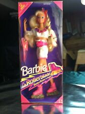 1991 Barbie Doll NOS Rollerblade Skates Flicker 'n Flash discontinued NRFB