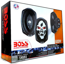 "Boss SK693 3-Way 6X9 "" New PHANTOM Car Speaker 600W (PAIR)  Coaxial Car Speakers"