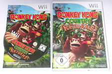 """Nintendo WII Gioco """"Donkey Kong Country Returns"""" COMPLETO"""