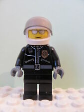 LEGO Minifig cty027a @@ Police City Leather Jacket Gold Badge 'POLICE' 7279 7288