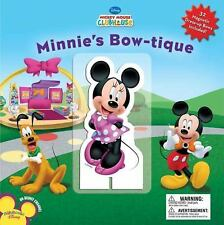 Minnie's Bowtique (Disney Mickey Mouse Clubhouse)-ExLibrary
