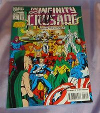 THE INFINITY CRUSADE #2~HAND-SIGNED BY JIM STARLIN~MARVEL MOVIE/THE AVENGERS~