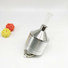 Funnel Mill Tobacco Herb Grinder Metal with Bottle 3 Parts x 56MM *115MM
