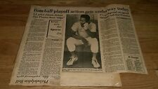 1974 Baseball Clippings Baltimore Orioles Oakland A's Bill North Tommy Lasorda