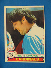 Vintage Baseball card Ted Simmons #510 1979 sports Topps chewing gum Cardinals