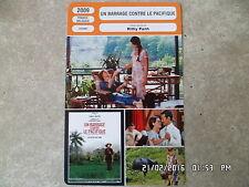 CARTE FICHE CINEMA 2009 UN BARRAGE CONTRE LE PACIFIQUE Isabelle Huppert