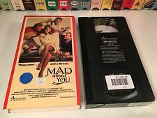 * Mad About You Rare 80's Comedy VHS 1989 Claudia Christian Adam West Academy