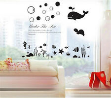 Under the sea Home Decor Removable Wall Sticker/Decal/Decoration