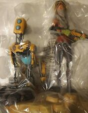 ReCore Collector's Edition Joule and Mack Premium Statue