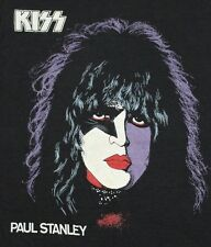 XS * NOS vtg 70s 1978 KISS Paul Stanley t shirt * KS8 tour band