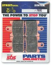 SBS Dual Carbon Front or Rear Motorcycle Brake Pads 634HS 1722-0696