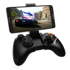 Bluetooth Wireless Controller Gamepad Joypad for iPhone Android Tablet PC Black