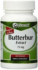 Vitacost Butterbur Extract - Standardized -- 75 mg - 120 Capsules