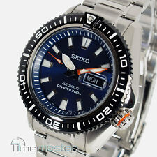 SEIKO PROSPEX PRO DIVERS 200M AUTOMATIC PEARLESCENT BLUE FACE SRP493K1