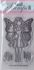 GIRL WITH WINGS - Hot Off The Press (HOTP) - Mini Clear Stamp Set