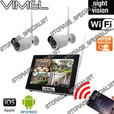 Home Security System IP Cameras Alarm House Farm Night Vision Anti Theft Vandal