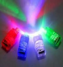 Finger Lights - 100 Pieces - Bright Laser Finger LED Lamp Rings Party Dance Rave