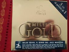 DAVIS MILES - MILES DAVIS GOLD. BOX 3 SEALED CD.