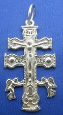 Sterling Silver .925 Caravaca Religuous Cross Pendant