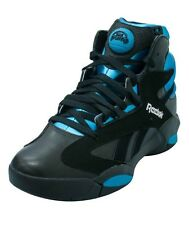 9.5 IN STOCK Men Reebok Shaq Attaq Black Azure Shaqnosis