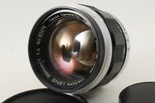 [EXC+++] Canon 50 mm f1.4 Leica Screw Rangefinder L39 LTM From JAPAN #683