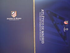 Book & club Information cuadernillo atletico de madrid 1903 - 2014