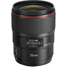 Canon Wide Angle EF 35mm f/1.4L II USM Lens
