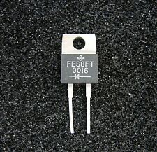 VISHAY General Semi 300V/8A Ultrsfast Rectifier Diode FES8FT, TO-220, 5pcs