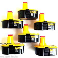 6 NEW GENUINE Dewalt DC9096 Batteries 18 Volt XRP Battery For Drill & Saw 18V
