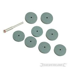 8 GRINDING DISCS FOR ALL TYPES OF LEADING BRAND ROTARY TOOLS LIFETIME WARRANTY