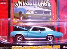 Johnny Lightning 1970 BUICK GS '70 Gran Sport 350 / 400 '70 GS Gulfstream Blue