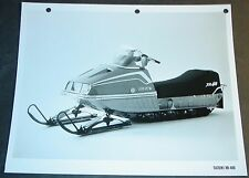 1974 SUZUKI SNOWMOBILE XR-400 FACTORY SALES PHOTO BROCHURE  (527)