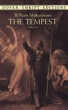 The Tempest (Dover Thrift Editions), William Shakespeare, Very Good Book