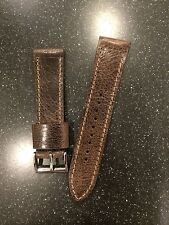 Distressed Leather Watch Strap  By US Leather Artisan