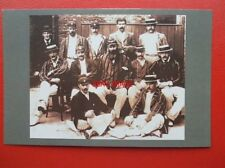 POSTCARD CRICKET TEAM ENGLAND 1896 SHOWING W G GRACE