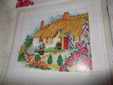 Country cottage cross stitch carte graphique #242