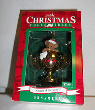 Vintage 1995 Gibson Coach of the Year Christmas Ornament Estate Sale!