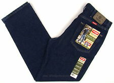 Wrangler Jeans New Mens Size 34 x 32 RINSE ( Dark Blue ) Regular Fit #1311