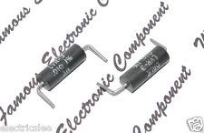 2pcs - DALE LVR-3 0.01R (0R01) 3W 1% Precision Wirewound Resistor NOS (Lead Cut)