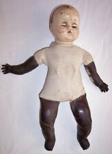 """Antique Composition Baby Doll 15"""" Open Close Eyes"""