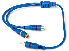 Cinch RCA Y Adapter Chinch 1 x Stecker / 2 x Buchse Kabel Car Hifi #YC-1100P#