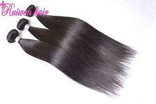 Brazilian Straight Virgin Hair Weave 3 bundles 20inch Human Hair Extension