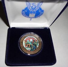 NESA Eagle Scout Service Project Norman Rockwell Bronze Coin Case 2013 Jamboree