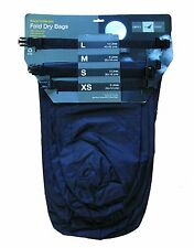 Exped Waterproof Fold Black Dry Bag [4 Pack] Lightweight Camping Fishing Sack
