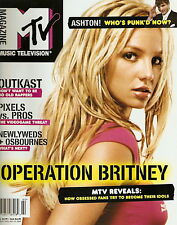 MTV Magazine March April 2004  Britney Spears Outkast Ashton Kutcher RARE