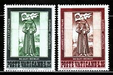 VATICANO 1956 232/33 MUERTE DE SAN JUAN DE CAPISTRANO